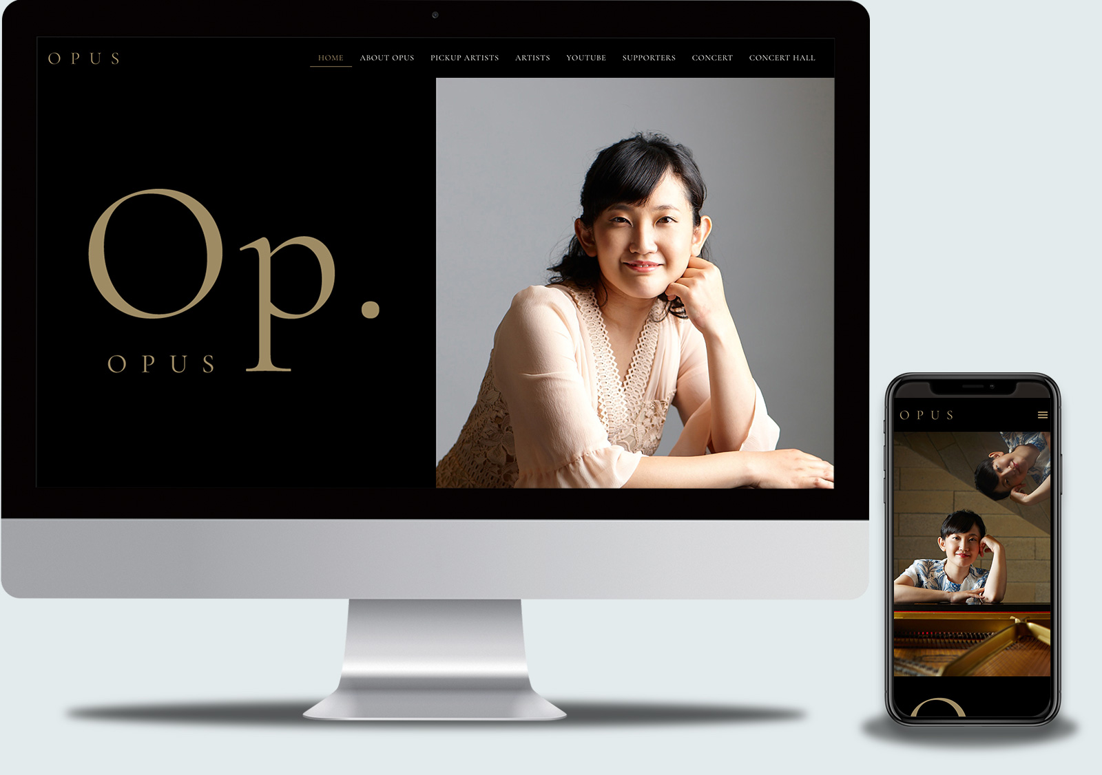 OPUS WEBサイト